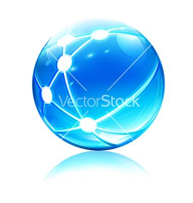 Vector Network Icon