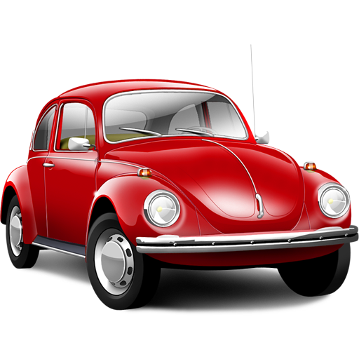 Volkswagen Beetle Bug Car Icon