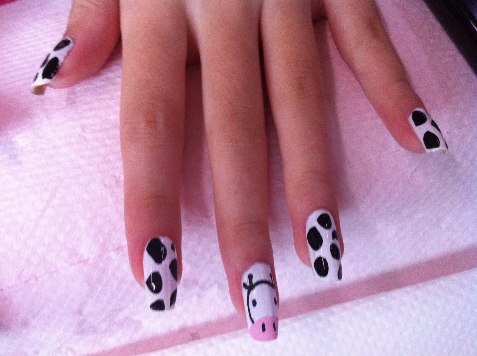14 Nail Designs With White Base Images
