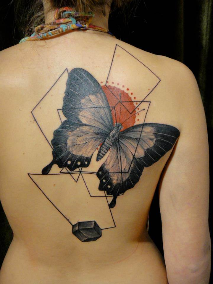 Abstract Art Tattoo Designs