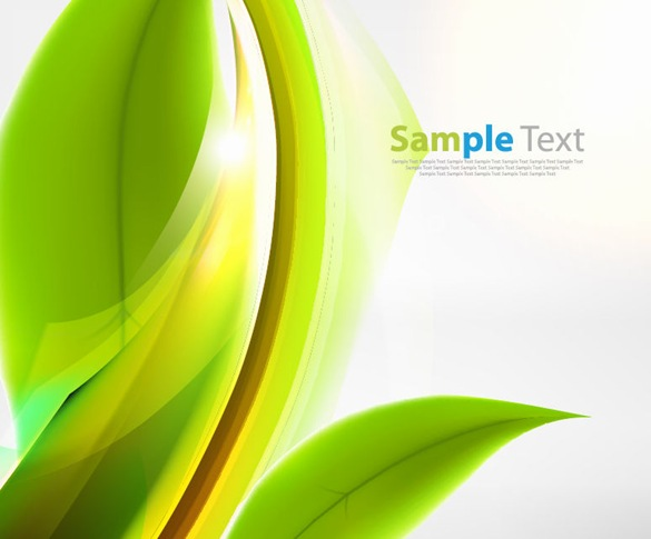 Abstract Green Vector Free