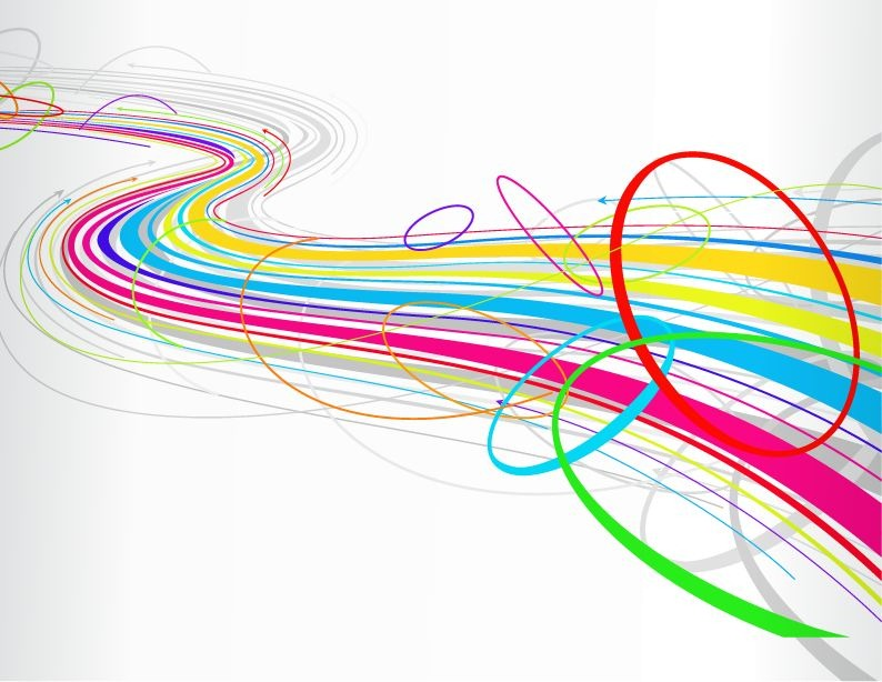 Abstract Line Art Design : Free vector lines images line designs
