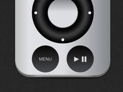 8 Apple TV Remote Icon Images - Apple Remote App Icon, Apple TV