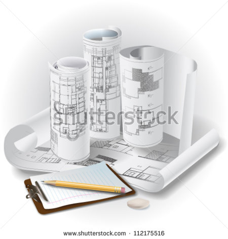 Architectural Drawing Symbols Clip Art