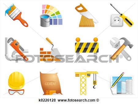 Architecture and Construction Clip Art