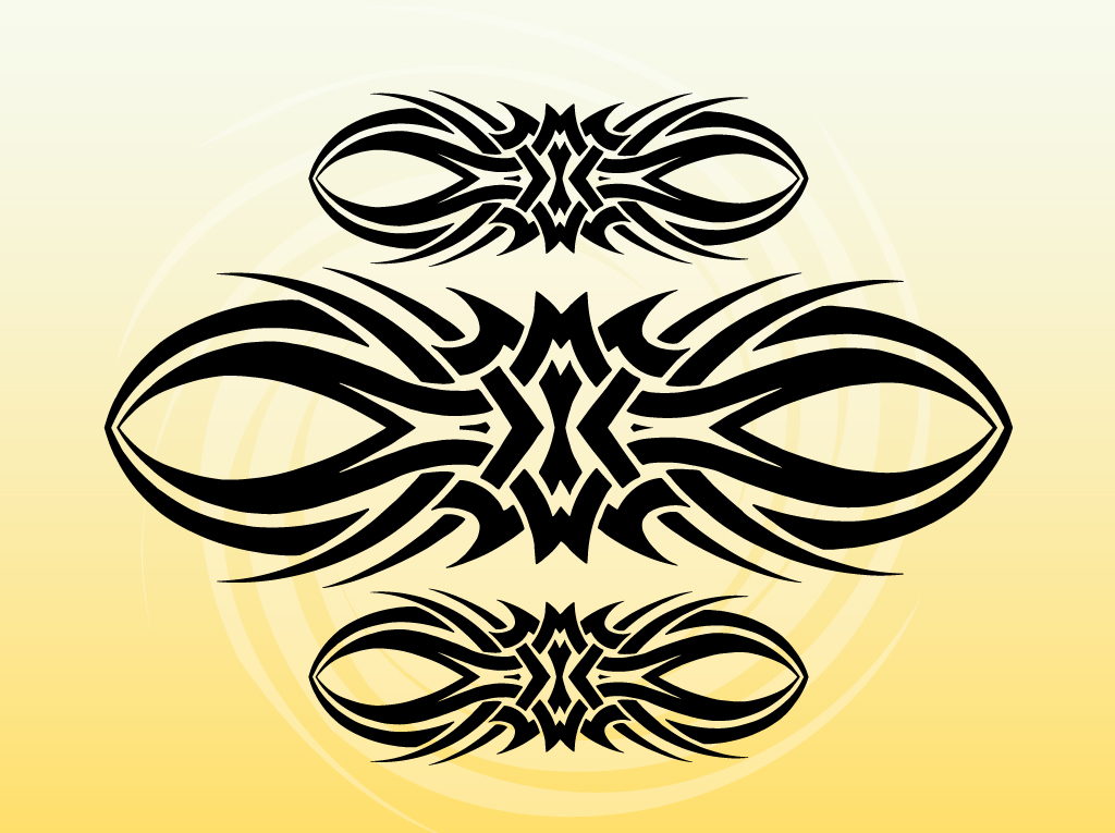 14 Tribal Band Vector Art Free Images