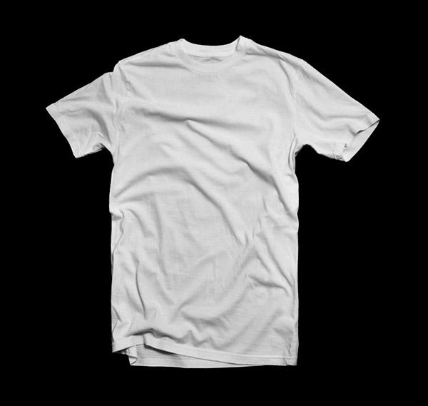 Blank White T-Shirt Template