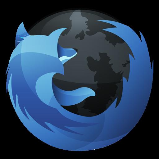 Blue Firefox Icon