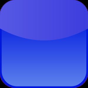 Blue Phone Icon Clip Art