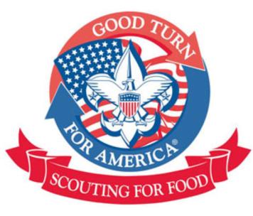 Boy Scout Food Drive