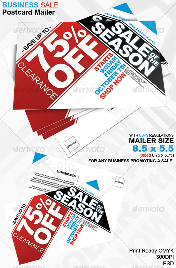 Business Sales Flyer Template