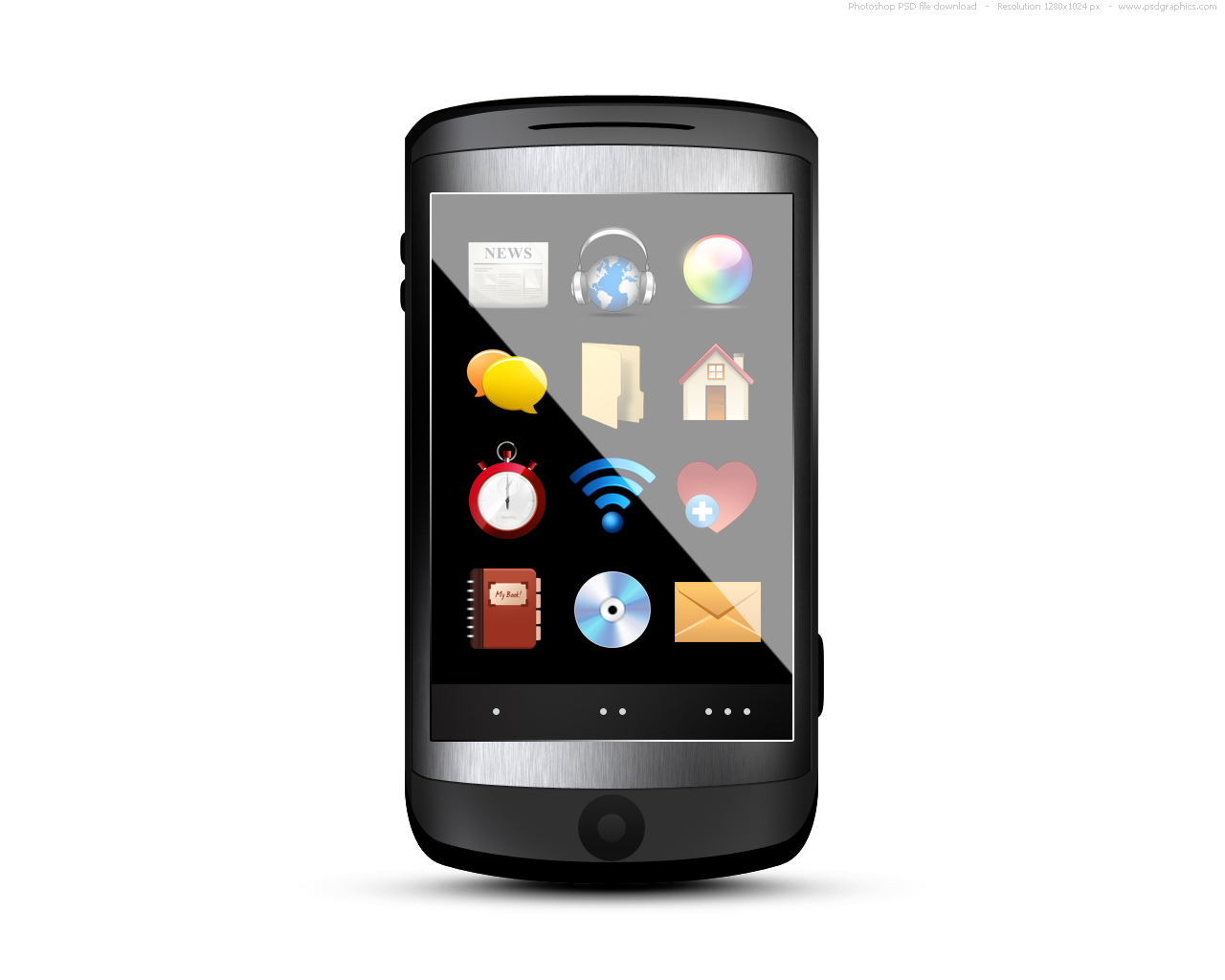 13 Cell Phone Black Icon Images