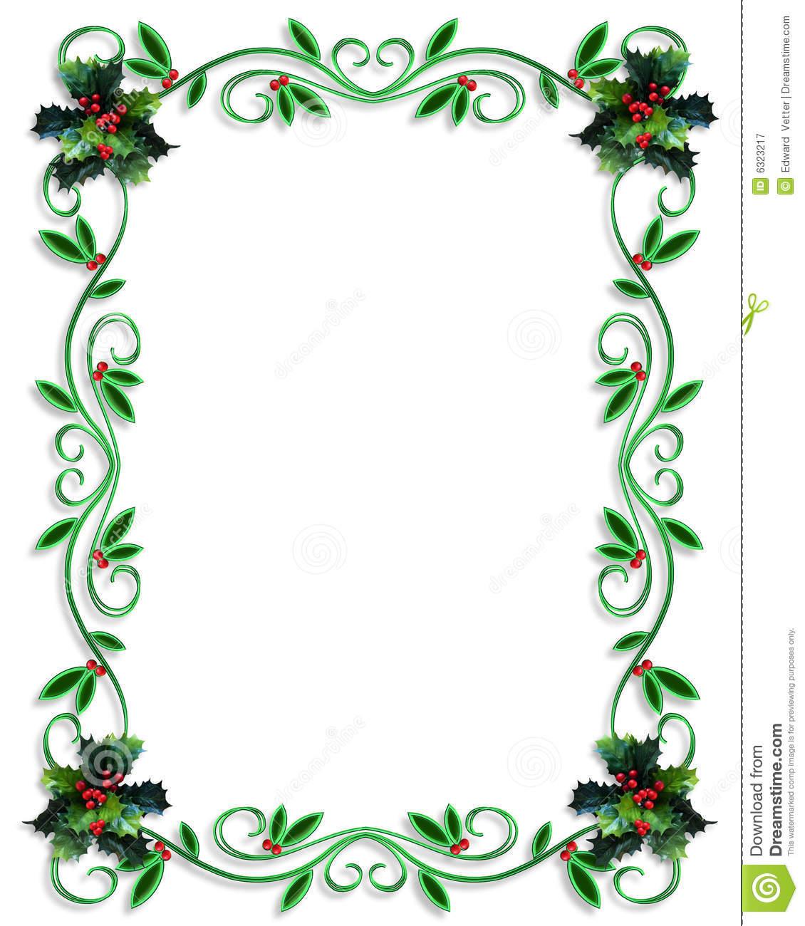 Christmas Border Designs