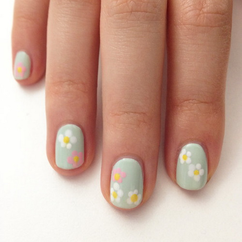 Cute and Easy Easter Nail Designs