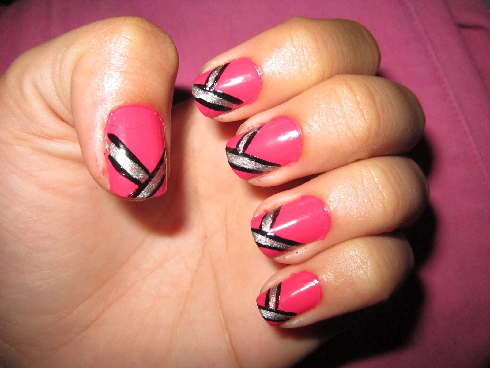 13 Plain Nail Designs Images