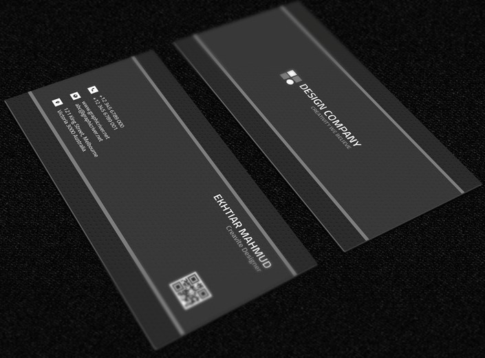 12 Free Psd Business Card Technology Images It Technician