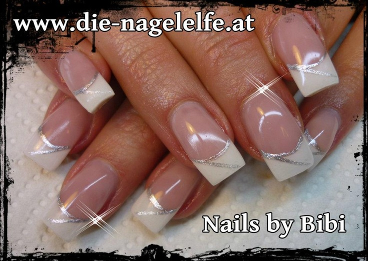 11 Elegant French Nail Designs Images French Manicure Nail Art