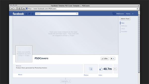14 Free Psd Facebook Cover Images Facebook Timeline Cover