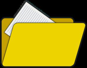 File Folder Clip Art
