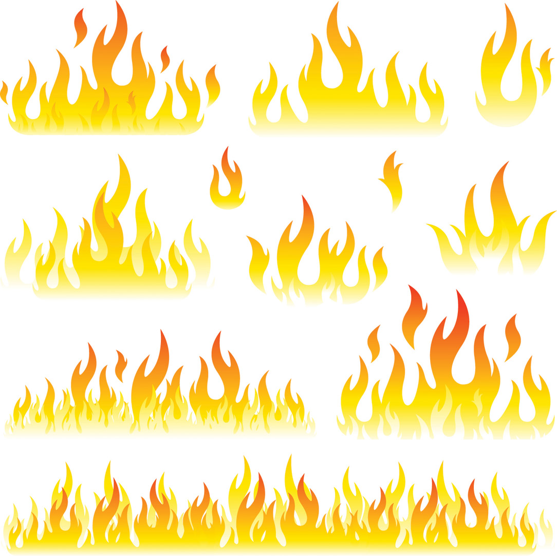 13 Fire Vector Free Download Images
