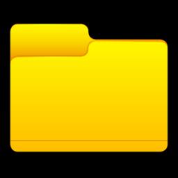 8 Basic File Folder Icon PNG Images