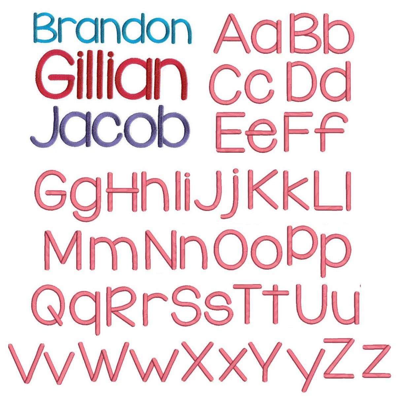 fonts machine