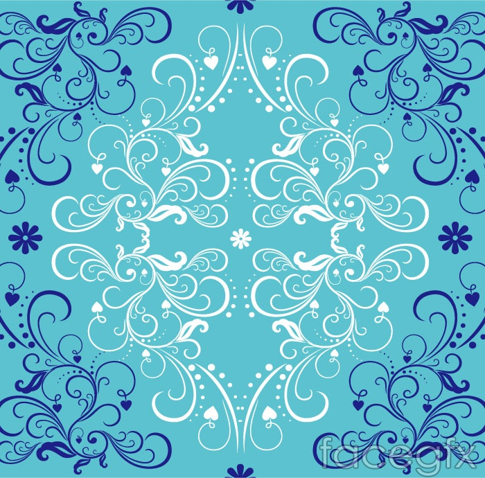 18 Free Blue Vector Background Patterns Images