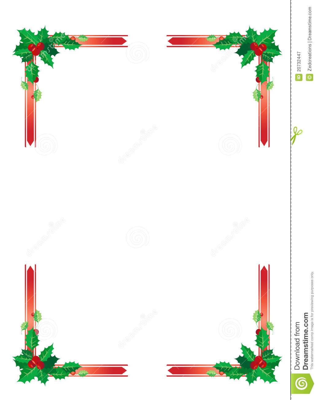 christmas design borders - photo #1