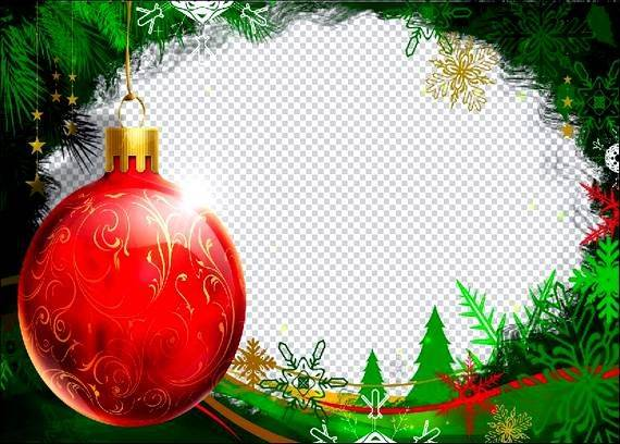 Free Christmas Photoshop Templates