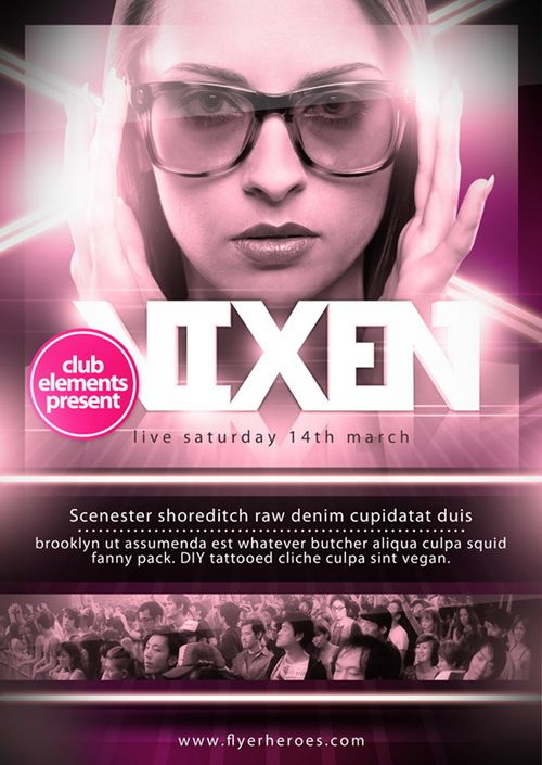 Free Event PSD Flyer Templates
