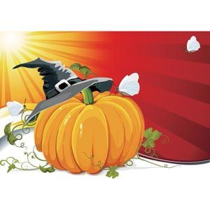 13 Halloween Pumpkin Vector October Park Images