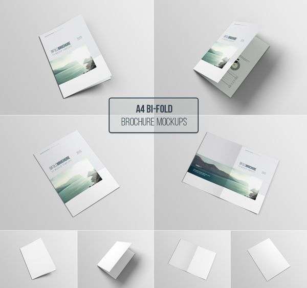 11 A4 Mockup Templates Psd Images