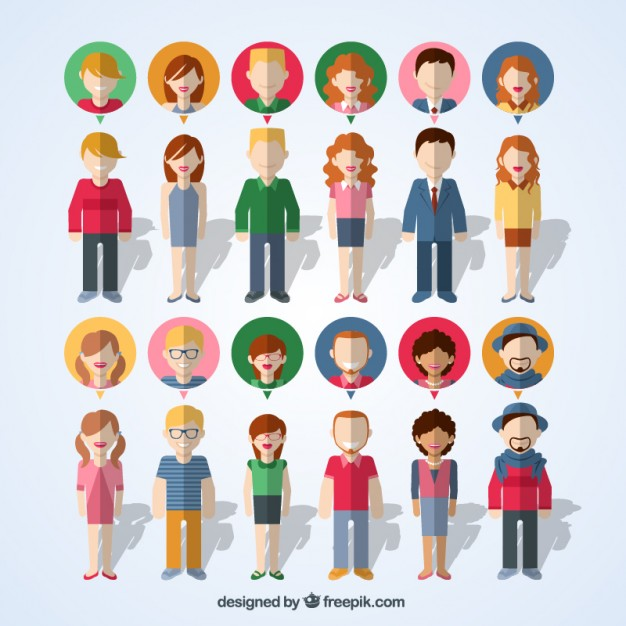 Free Vector People Icons