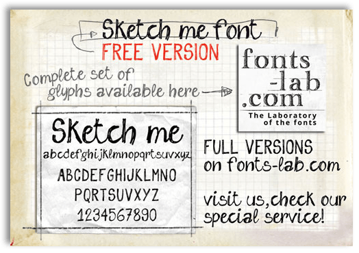 14 Sketchy Handwriting Fonts Images