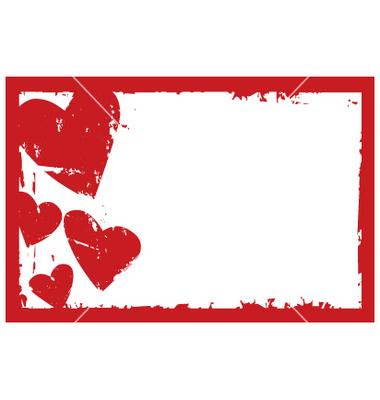15 free vector heart frame images black heart border
