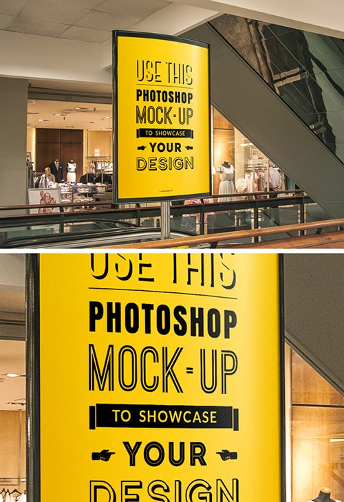13 Indoor Banners PSD Actions Images