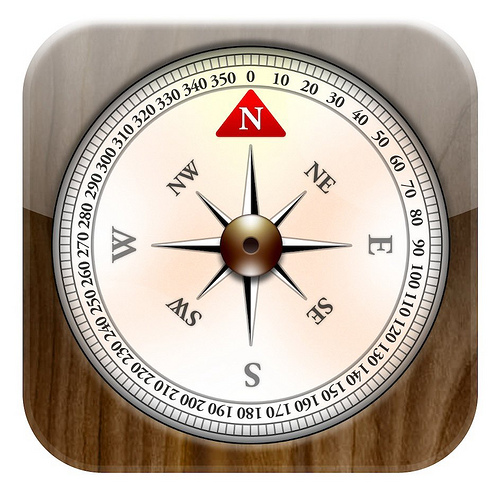 8 IPhone Compass Icon Images