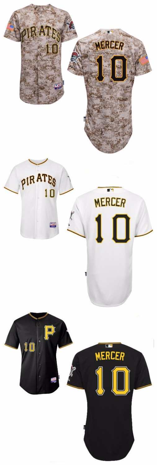 Jordy Mercer Pittsburgh Pirates Jersey