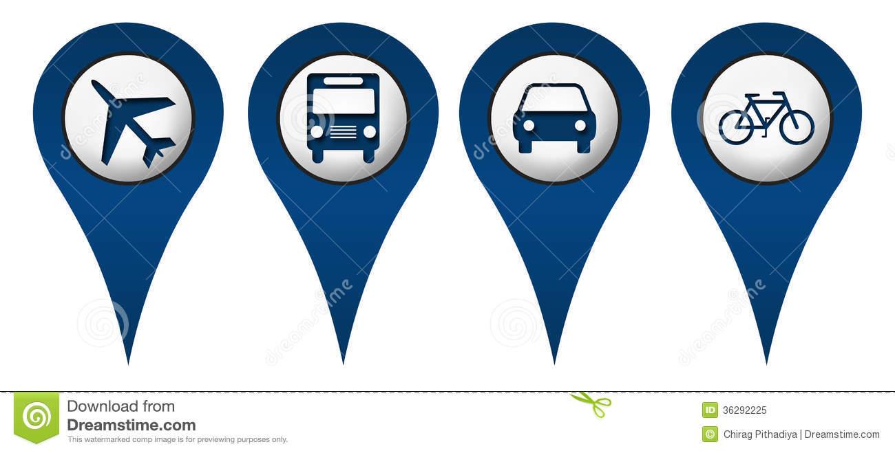 15 Location Icons Symbols Images