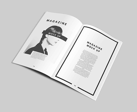 Magazine PSD Template
