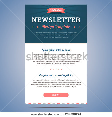 Design email newsletter template dreamweaver for Dreamweaver newsletter templates