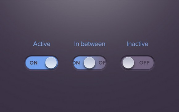 14 Radio Button PSD Images
