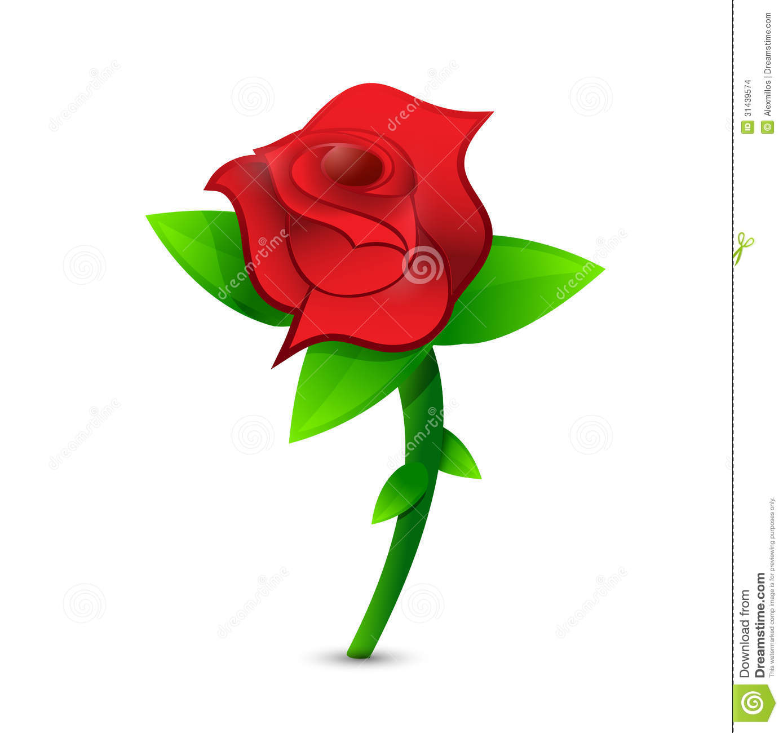 Red Roses Illustration