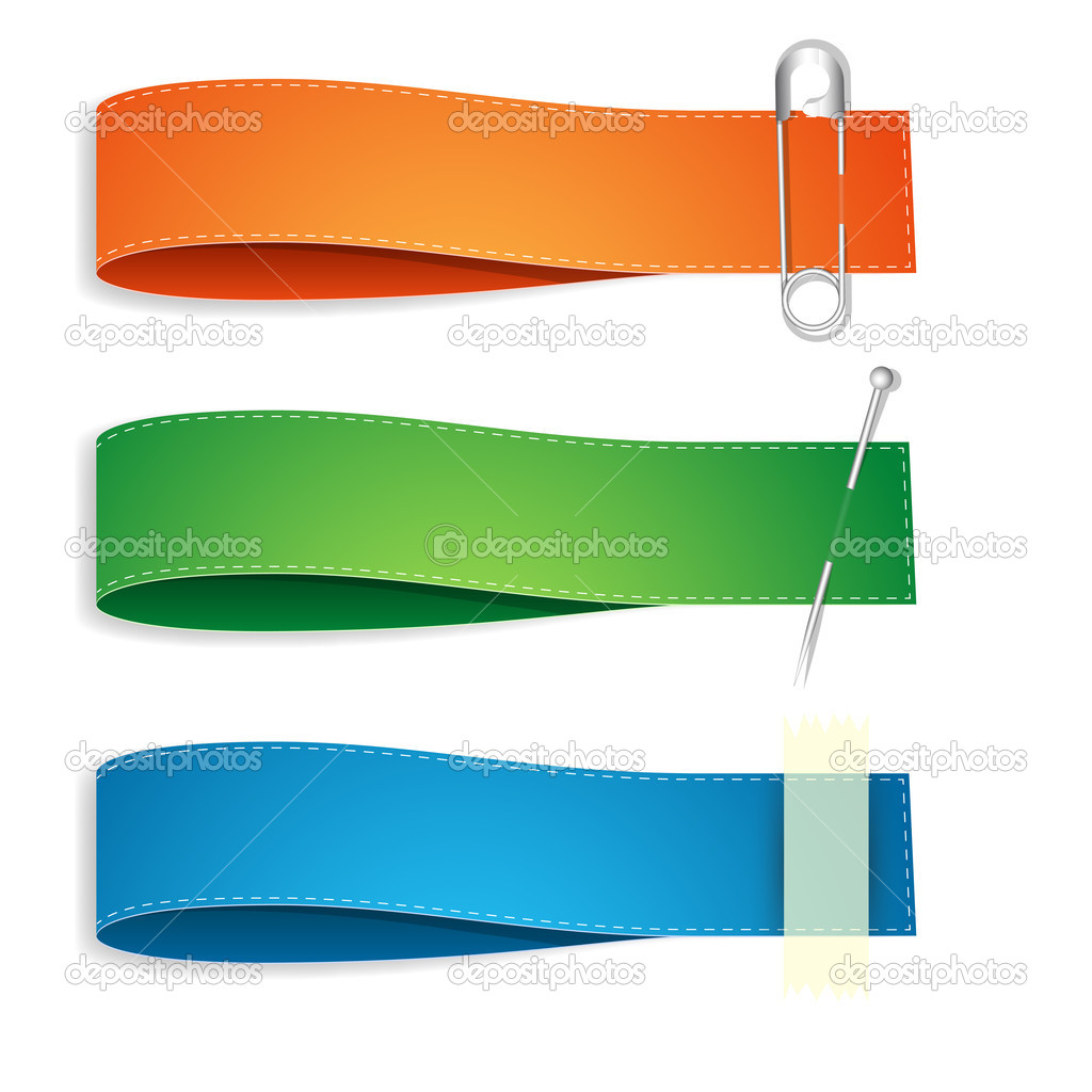 Ribbon Banner Vector Free
