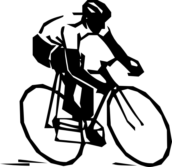 18 Bicycle Clip Art Icon Images