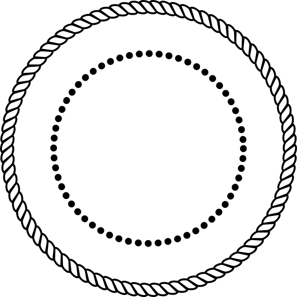 10 Rope Circle Vector Images