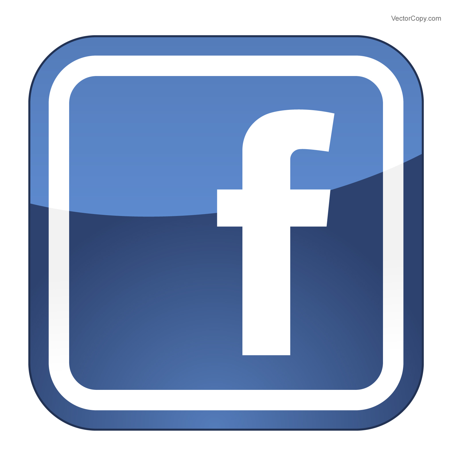 10 Facebook Icon Vector Free Download Images