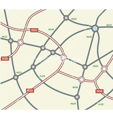 18 Free Vector Road Maps Images