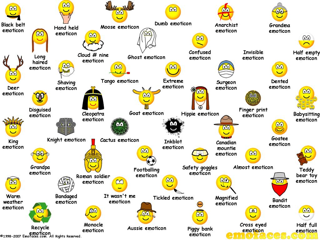 5 Explicit Emoticons Smiley 'S Images