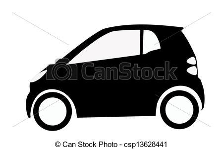 Smart Car Silhouette